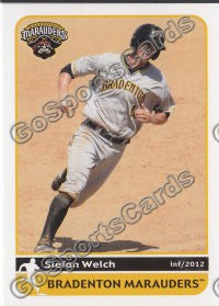 2012 Bradenton Marauders Stefan Welch