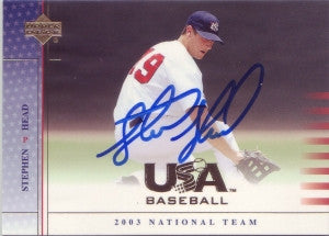 Stephen Head 2003 Upper Deck USA (Autograph)