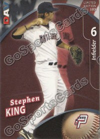2009 Potomac Nationals DAV Stephen King