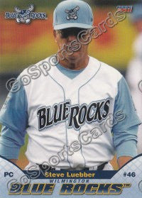 2011 Wilmington Blue Rocks Steve Luebber