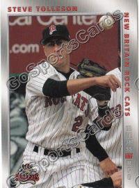 2008 New Britain Rock Cats Steve Tolleson