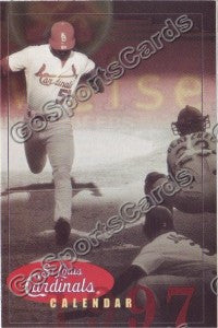 1997 St Louis Cardinals Pocket Schedule