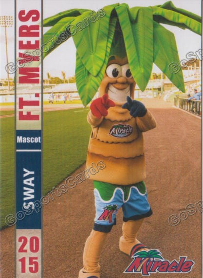 2015 Fort Myers Miracle Sway Mascot