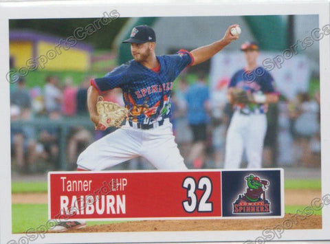 2018 Lowell Spinners Tanner Raiburn