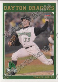 2011 Dayton Dragons Tanner Robles