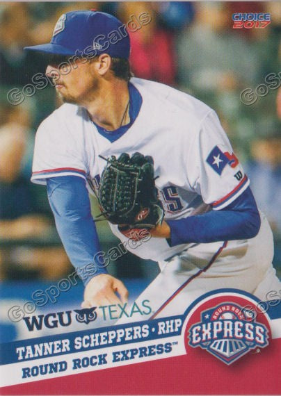 2017 Round Rock Express Tanner Scheppers