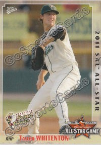 2011 South Atlantic League Southern All Star Taylor Whitenton