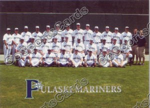 2008 Pulaski Mariners Team Photo