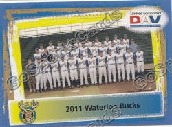 2011 Waterloo Bucks DAV Team Photo