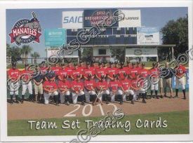 2012 Brevard County Manatees Team Photo
