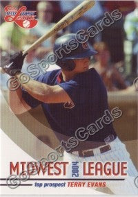 2004 Midwest League Top Prospects Terry Evans