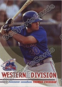 2004 GrandStand Northwest League All Star Thomas Everidge