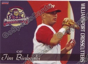 2008 Williamsport Crosscutters Tim Binkoski