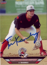 Tim Kennelly 2007 Williamsport Crosscutters (Autograph)