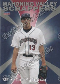 2009 Mahoning Valley Scrappers Tim Palincsar