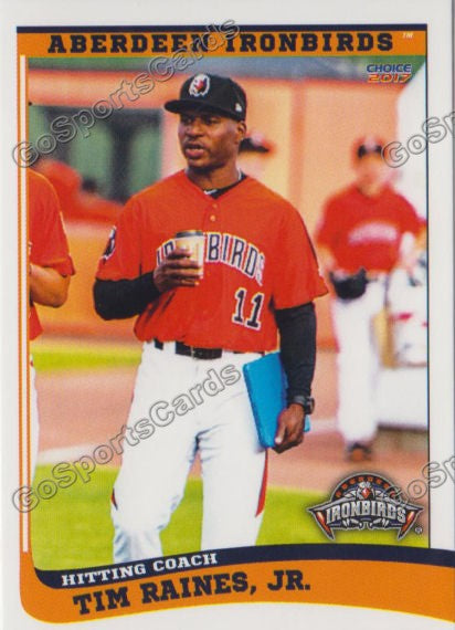 2017 Aberdeen Ironbirds Tim Raines Jr