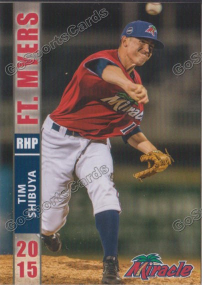 2015 Fort Myers Miracle Tim Shibuya