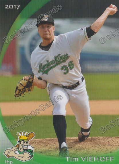 2017 Clinton LumberKings Tim Viehoff
