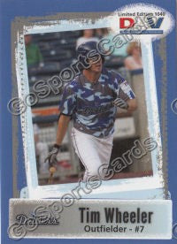 2011 Tulsa Drillers DAV Tim Wheeler