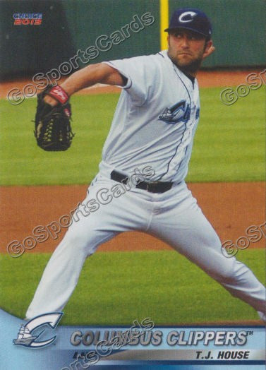 2013 Columbus Clippers Tj House