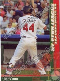 2008 New York Penn League Top Prospects T.J. Steele