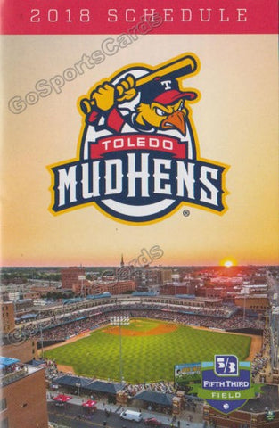 2018 Toledo Mud Hens Pocket Schedule