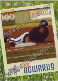 2009 Aberdeen IronBirds Tom Edwards