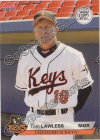 2004 Frederick Keys SGA Tom Lawless