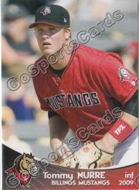 2009 Billings Mustangs Tommy Nurre