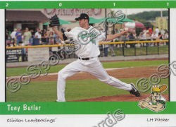 2011 Clinton LumberKings Update 1 Tony Butler