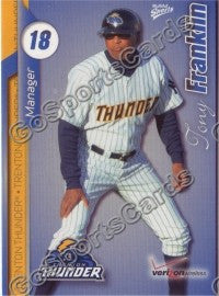 2010 Trenton Thunder Tony Franklin