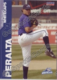 2005 West Michigan WhiteCaps Tony Peralta