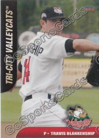 2011 Tri City Valley Cats Travis Blankenship