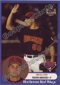 2005 International League All-Stars Choice Travis Bowyer