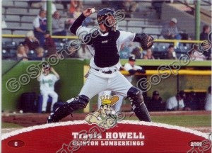 2009 Clinton LumberKings Travis Howell