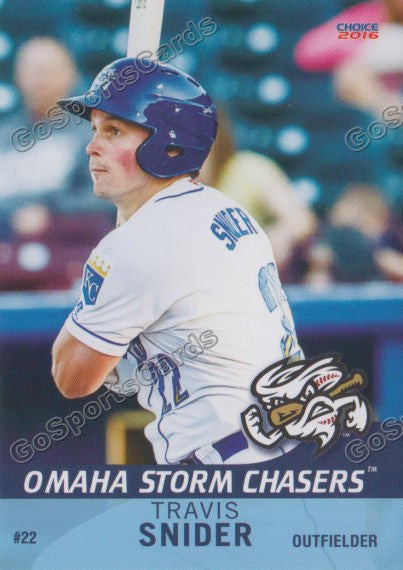 2016 Omaha Storm Chasers Travis Snider
