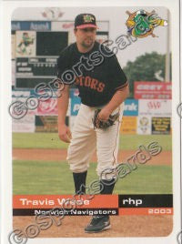 2003 Norwich Navigators Travis Wade