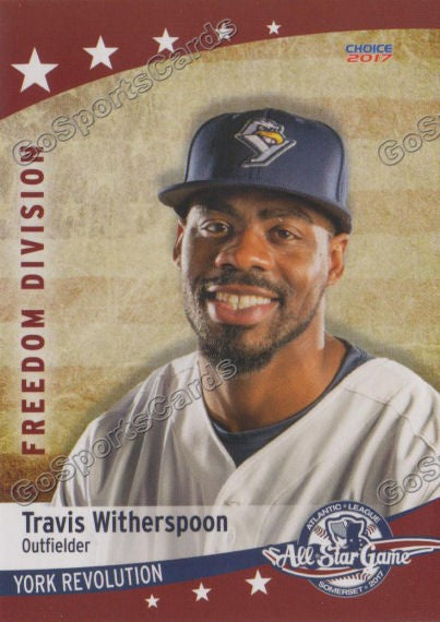 2017 Atlantic League All Star Freedom Travis Witherspoon