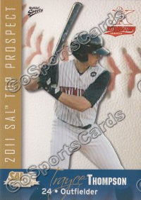 2011 South Atlantic League Top Prospects Trayce Thompson