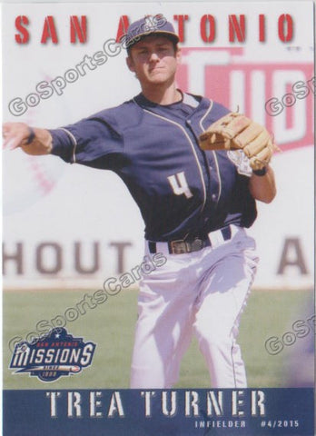 2015 San Antonio Missions Team Set