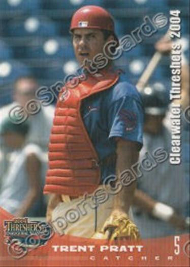 2004 Clearwater Threshers Trent Pratt
