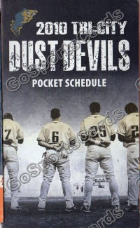 2010 Tri City Dust Devils Pocket Schedule