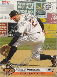2004 Frederick Keys SGA Tripper Johnson