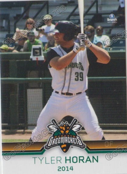 2014 Augusta Greenjackets Tyler Horan