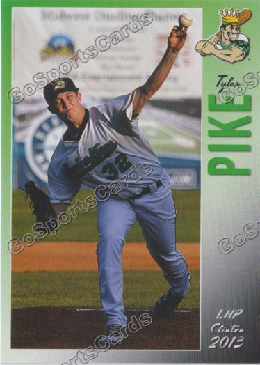 2013 Clinton Lumberkings Team Set