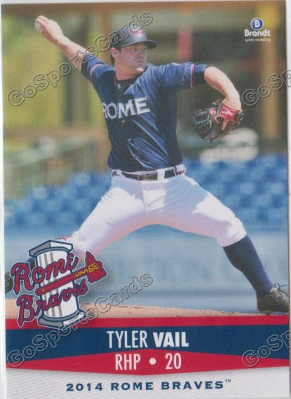 2014 Rome Braves Team Set
