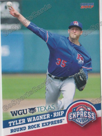 2017 Round Rock Express Tyler Wagner