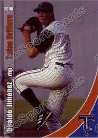 2006 Tulsa Drillers Team Set (Jimenez, Tulowitzki RC)