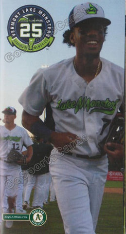 2018 Vermont Lake Monsters Pocket Schedule