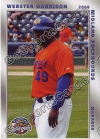 2008 Midland RockHounds Webster Garrison
